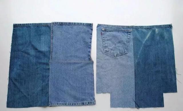 40款各异拼花牛仔布包包,看哪个款式最入眼,以后自己做!附教程