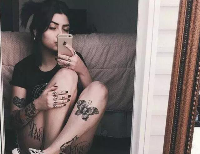 纹身的女人真漂亮,爱了