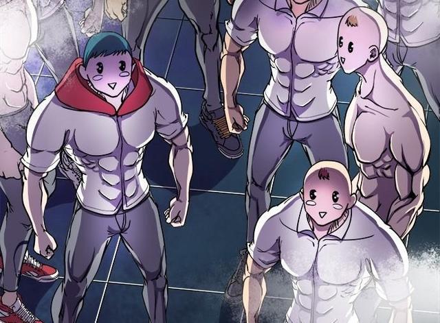 肌肉男漫画