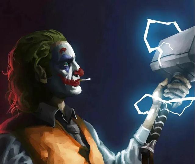 小丑男头像高清