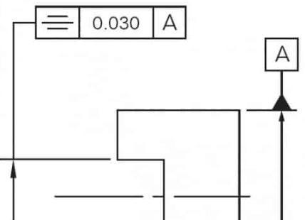同轴度标注示意图