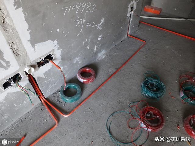 标准家装水电cad图纸