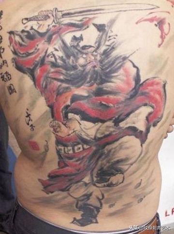 辟邪招财转运纹身图案