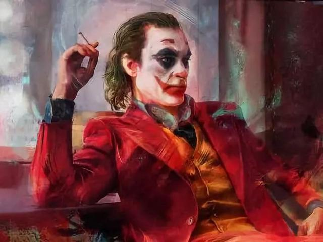 dc小丑强颜欢笑