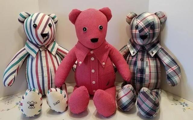 布艺手工:旧衣服改造玩偶,孩子的玩具不用买了!附图纸和教程