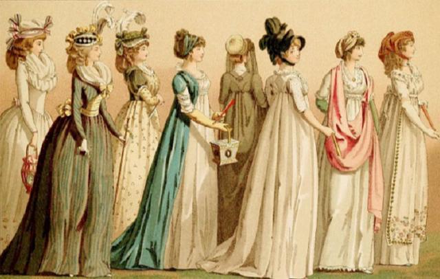 欧洲中世纪礼服