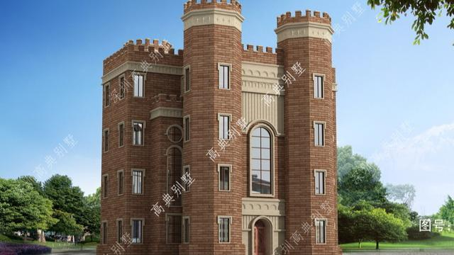 西式城堡风格别墅,高层设计大豪宅