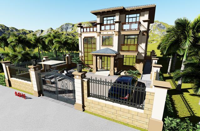 图纸之家一层楼小别墅