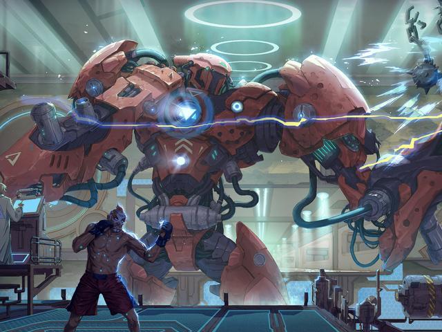 超科幻未来机甲图片