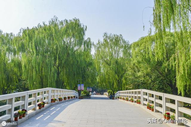 """北京大兴""""念坛公园""""游园秋色,尚秋湖之色……"""