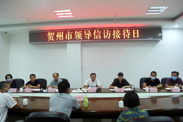贺州市副市长刘洪军到市信访局开展信访接待活动