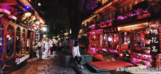 丽江古城酒吧一条街