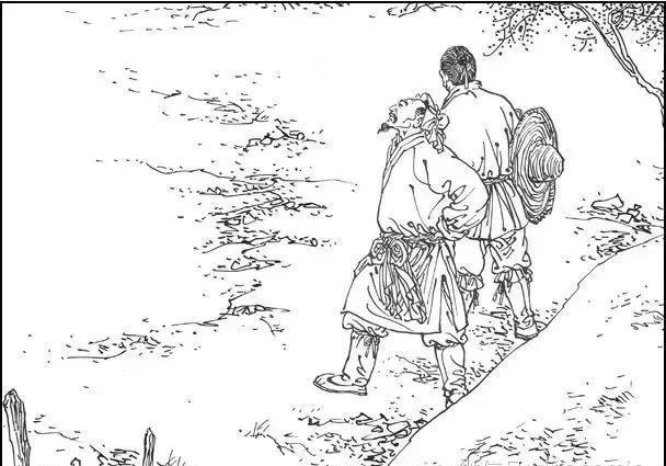 塞翁失马,连环画《塞翁失马》:人生不如意,十之八九,塞翁失马焉知非福?