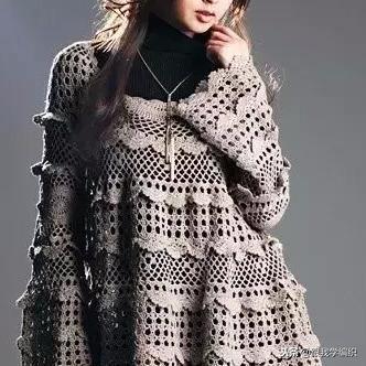 两款美丽钩针半身长裙图解-编织乐论坛