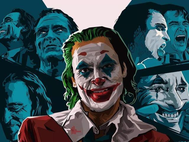 小丑强颜欢笑图片