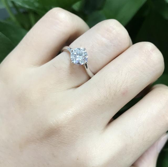 蜂窝钻石戒指款式图片