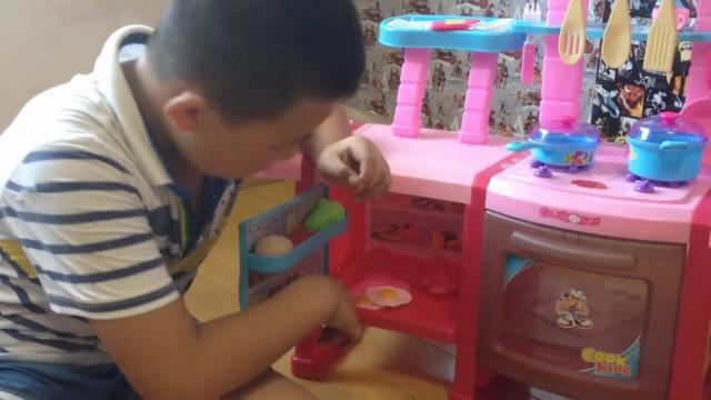 过家家玩具 亲子互动小游戏 厨房玩具