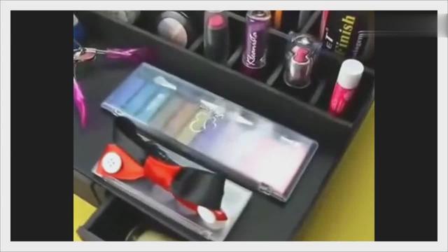 自制化妝品收納盒