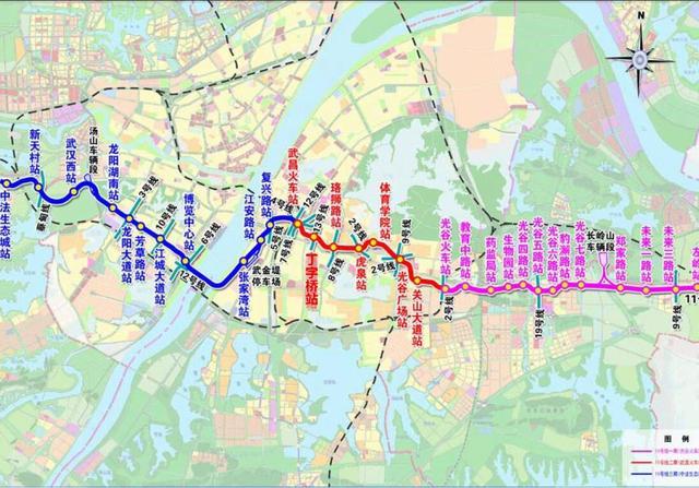 地铁11号线首次环评全本公示,线路图来了_新浪看点
