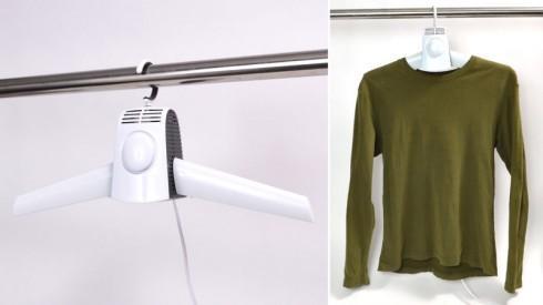 快速干衣,便携烘干衣架