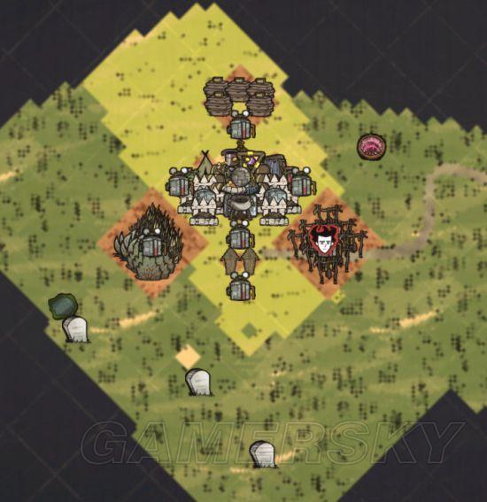 大神饥荒家园图