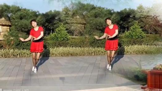 快乐人生广场舞《最美丽的姑娘》编舞一莲演示快乐人生制作秀