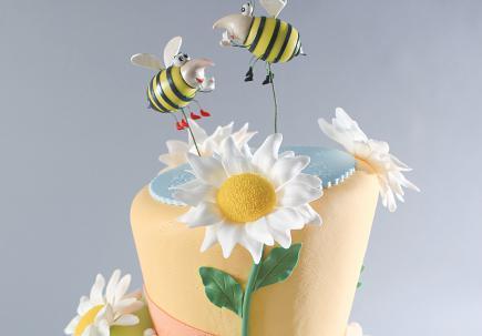 良辰美景翻糖蛋糕 怎么能做這么美!
