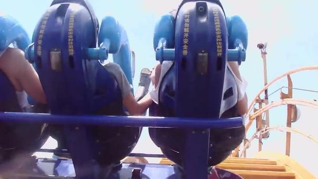 长隆的垂直过山车,玩到我眼泪都飙出来了。_广州_论坛_天涯社区