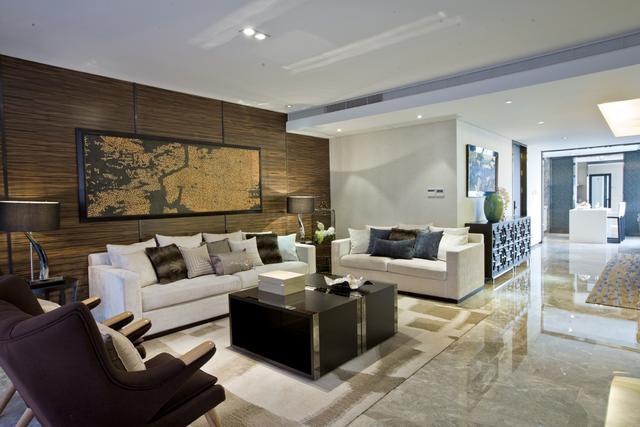 木质感的东南亚风格室内装修,温馨小调!