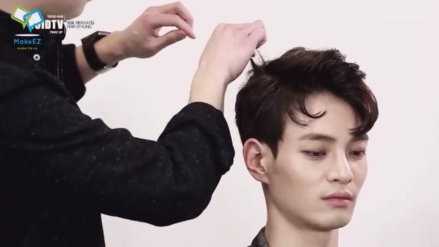 男生超帅气侧分发型大集合,总有一款适合你!_网易新闻