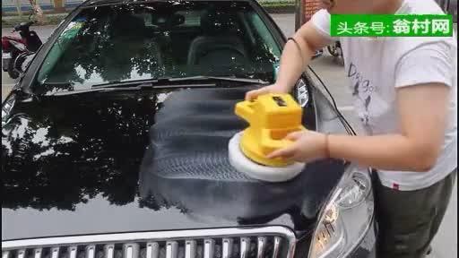 国人研发的汽车打蜡机