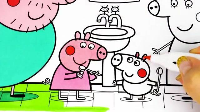 小猪佩奇乔治头像图片