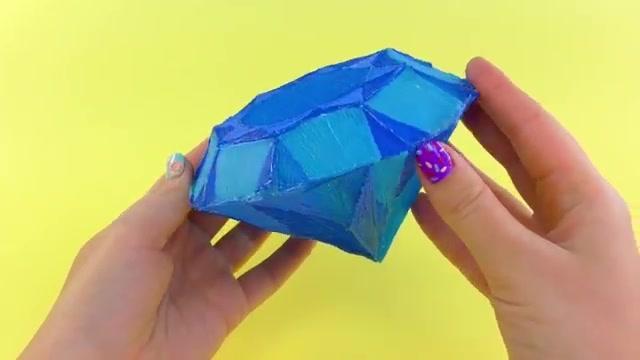 折纸王子:简单钻石 讲解详细 清楚易学 形象逼真 跟孩子一起学