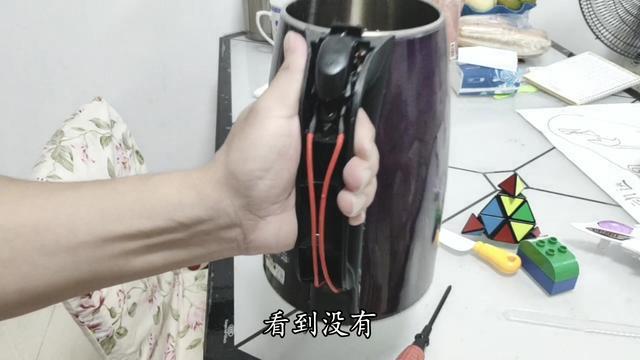 金灶电茶壶拆图解