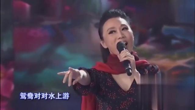 """安徽黄梅戏歌后""""吴琼""""演唱《等你掀盖头》,鸳鸯对对水上游。"""
