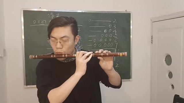 笛子吹响的嘴型图解
