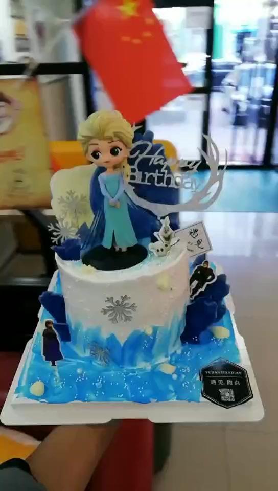 公主主題系列生日蛋糕 少女心滿滿 顏值爆表的生日蛋糕 女生最愛