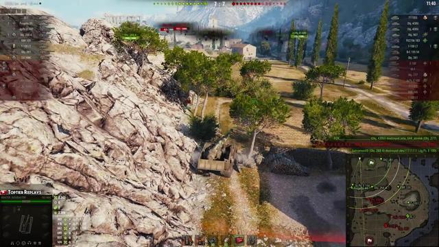 关于坦克的动画:原子弹打败大坦克