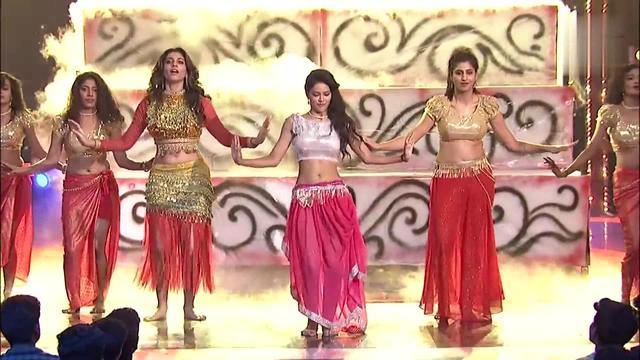 超好看的印度肚皮舞