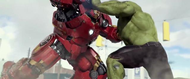 """钢铁侠VS绿巨人,""""反浩克装甲""""能不能打得过绿巨人吗?"""