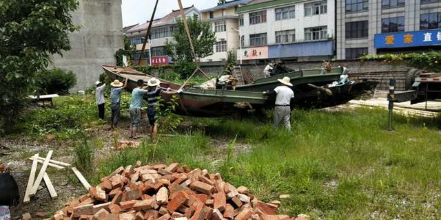南京高淳区固城街道固城村加快渔船退捕上岸进度