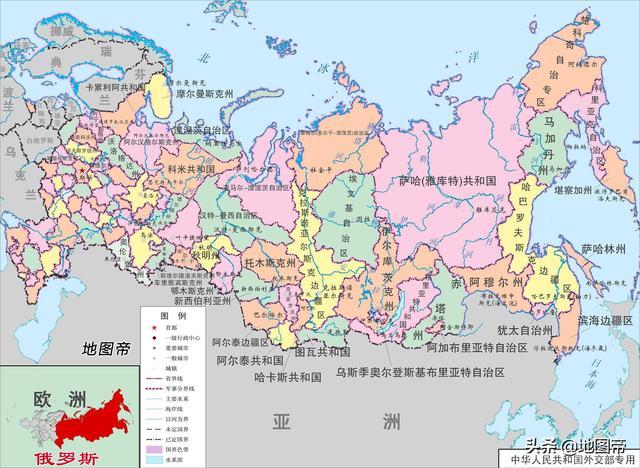 俄罗斯内部为何还有22个共和国?