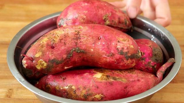 蒸红薯图片真实