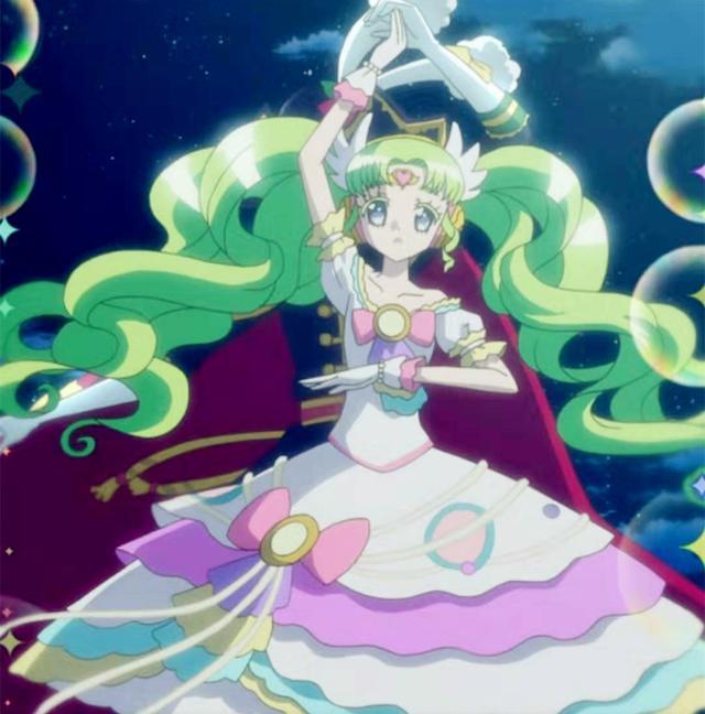 我怎么觉得这小花仙第二部的爱心花仙魔法使者千韩变身后这么像真中啦啦呢?发型跟头饰的形状,位置都一样?