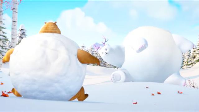 熊出没之雪岭熊风图片