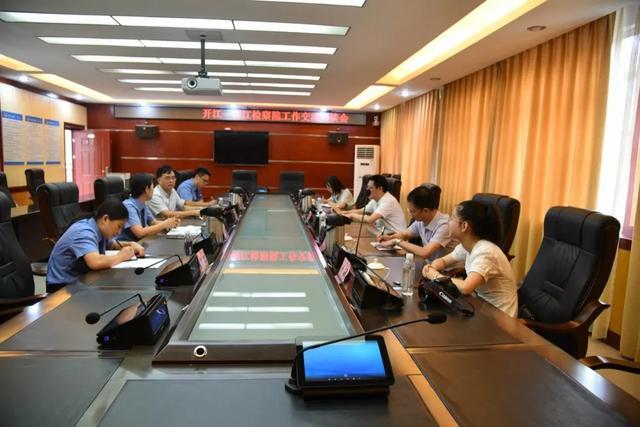开江县检察院来南江县检察院交流学习