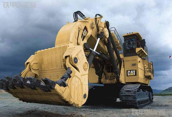 日立最大的液压挖掘机——EX8000图赏