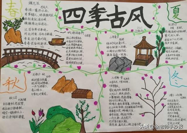 关于诗人李白的手抄报