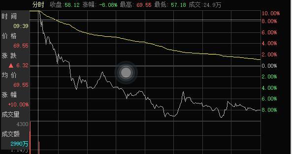 3天大跌27%!213亿市值蚂蚁金服概念股连续下跌,股民追涨被埋
