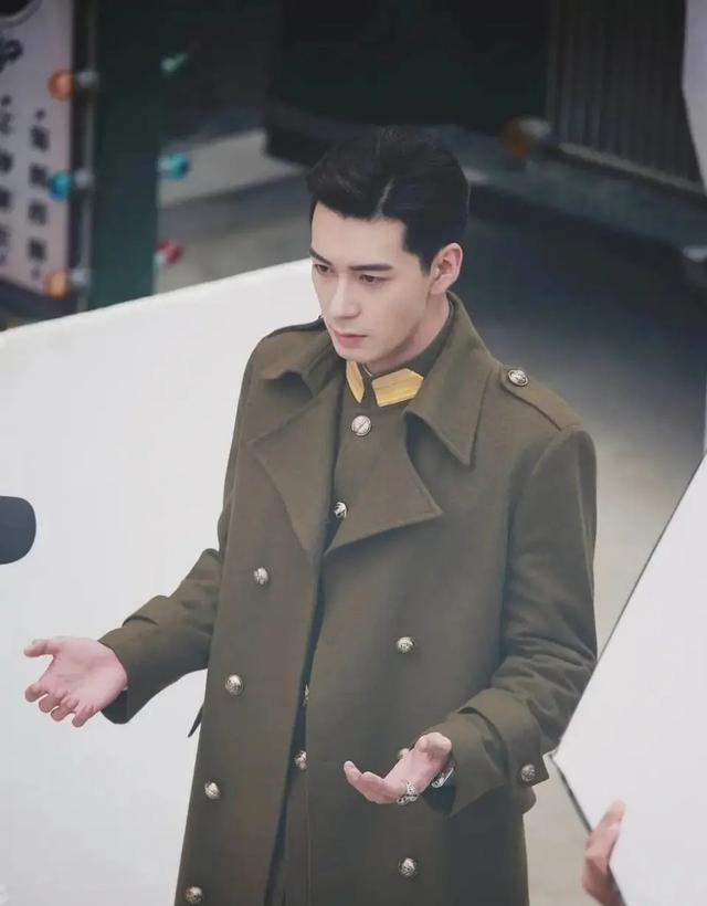 陳星旭新劇造型曝光 網友:誰說弟弟只有古裝才帥 軍裝也是超帥的